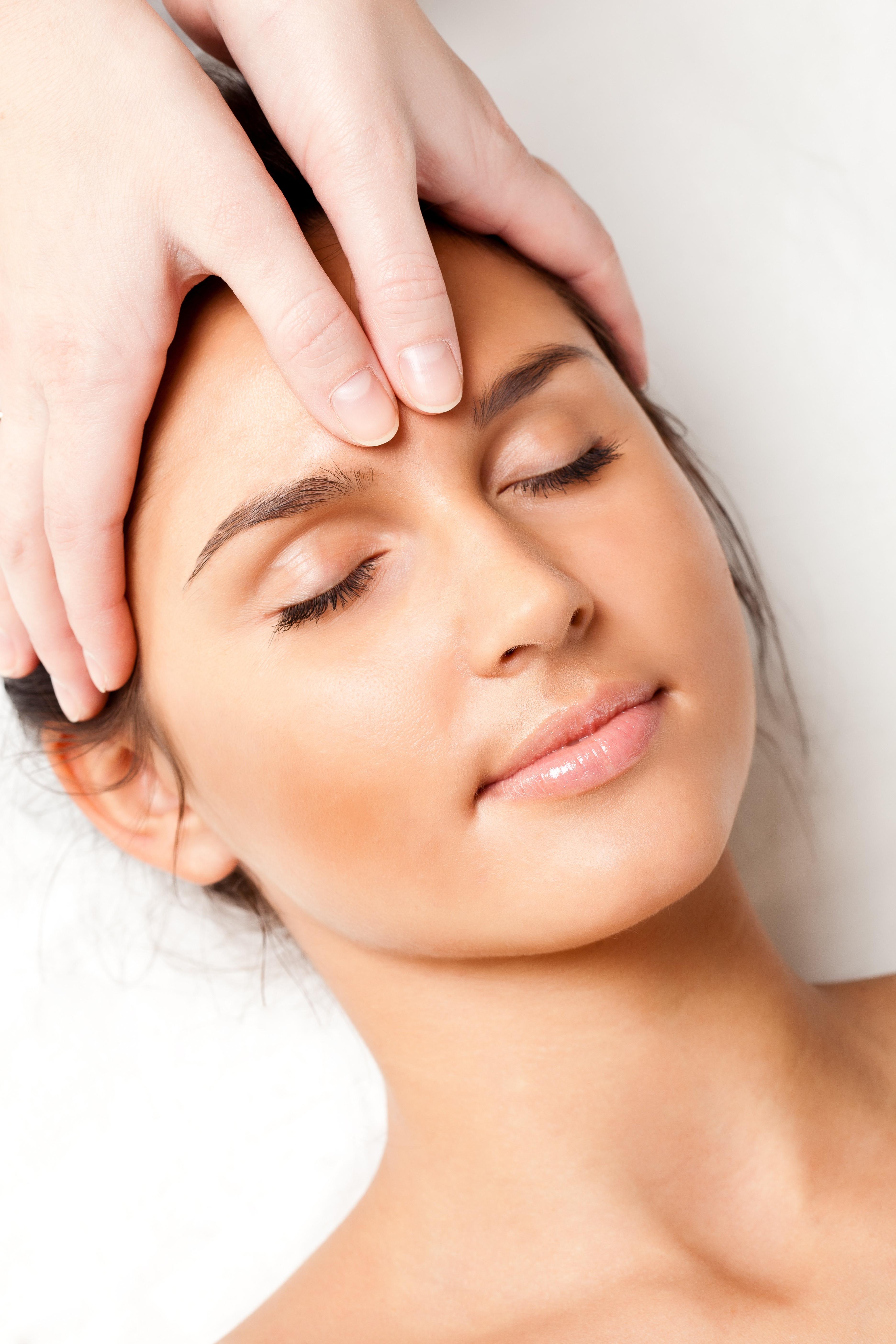Indian Head Massage session