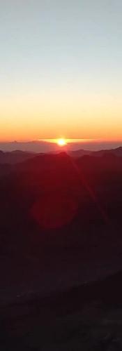 Sunrise on Jabal al Musa