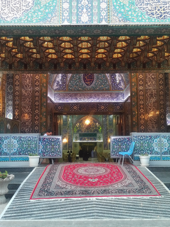 Entrance of Abd'Allah shrine in Karbalah - Iraq