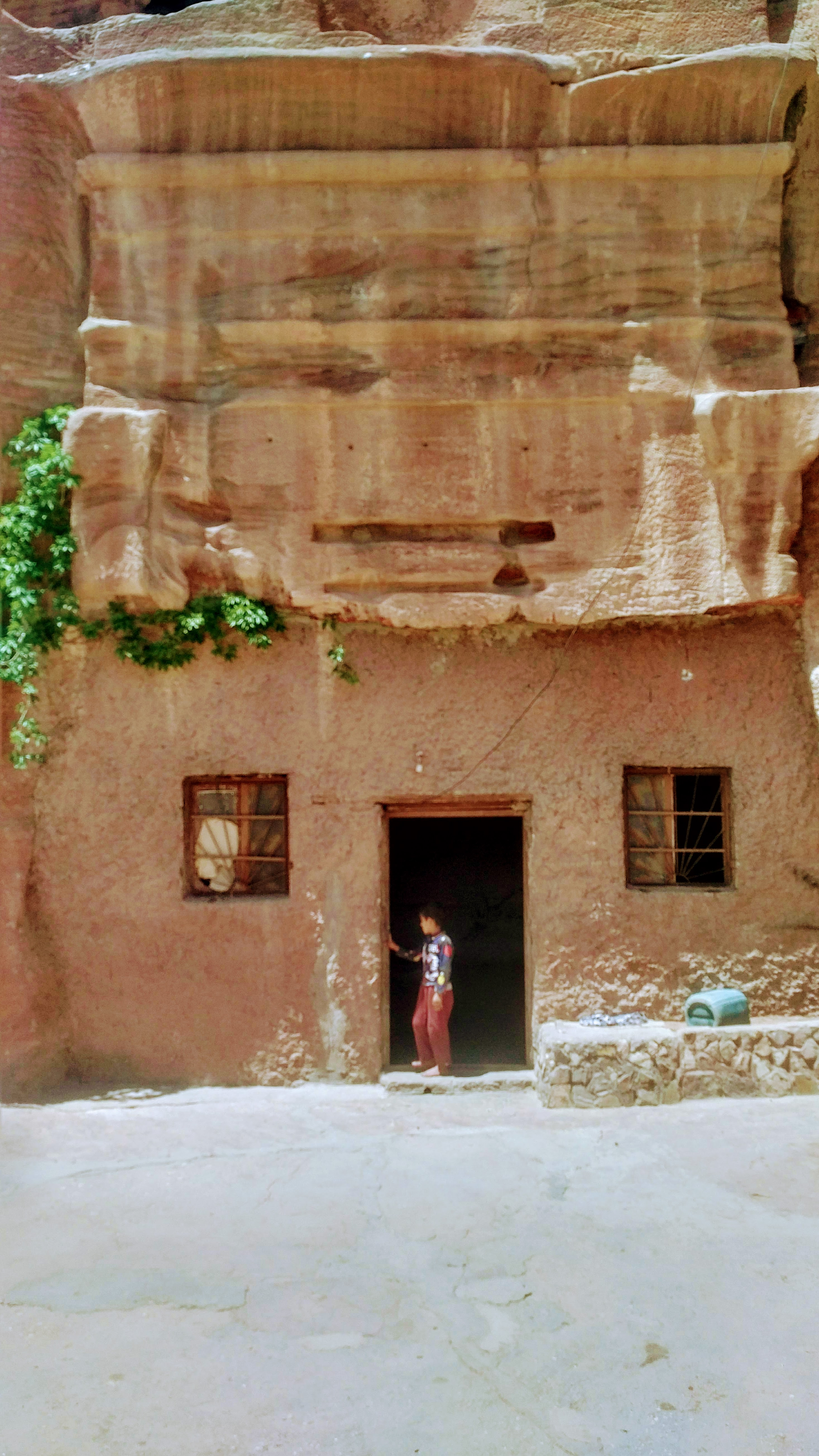 Petra's cave