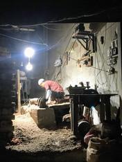 Carpenter in Kunjah - Pakistan
