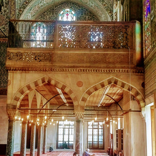 Inside of The Blue Mosque