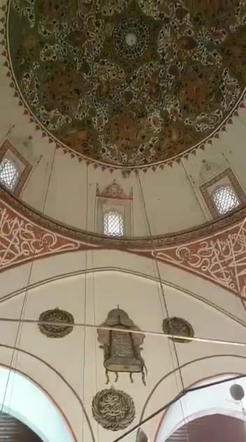 Inside of Rumi's Shrine