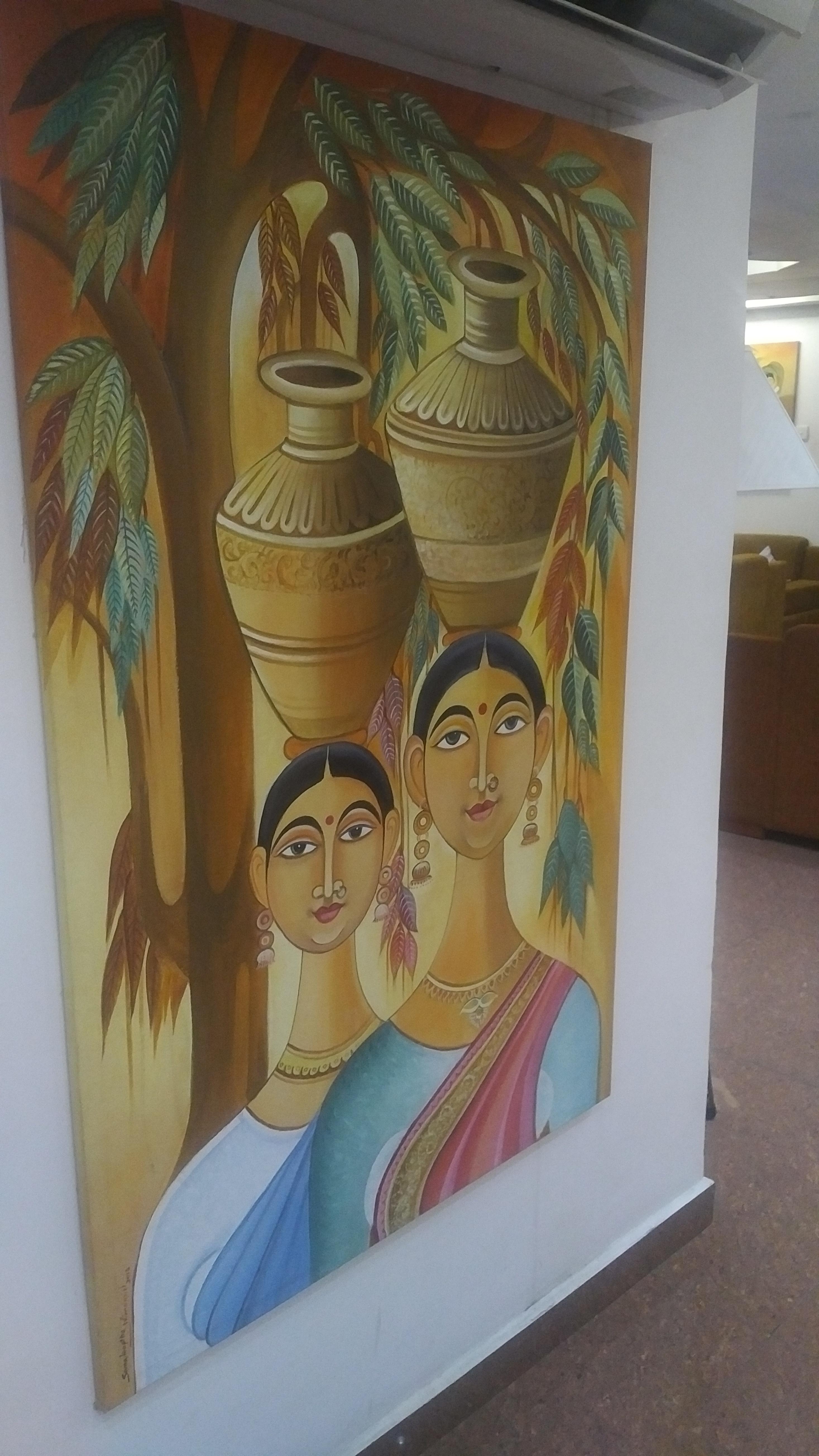Painting of Sri Lankan ladies