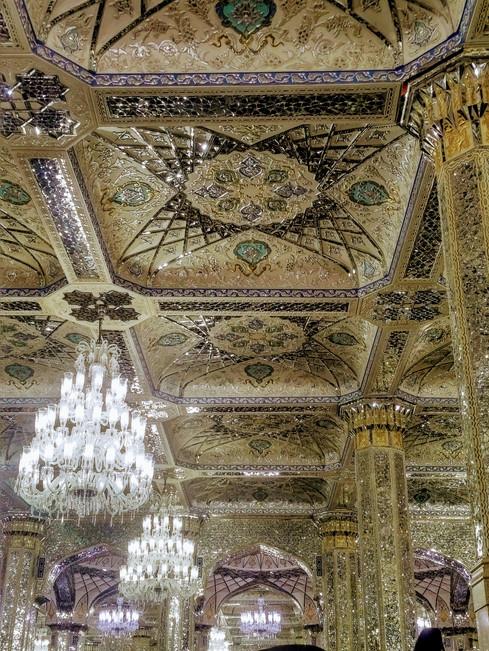 Inside of Imam Rezah mosque - Iran