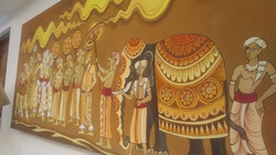 Painting in a hotel of Colombo