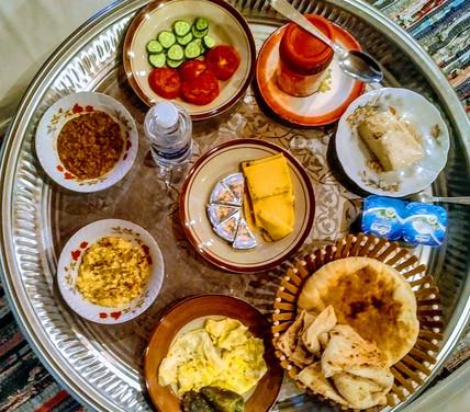 Nubian's breakfast