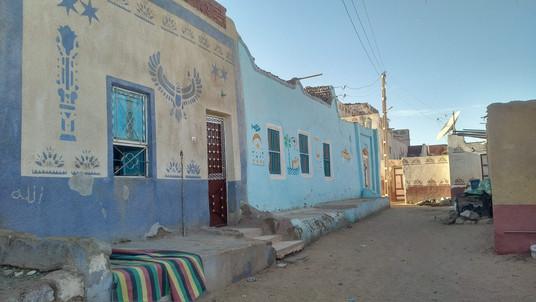 Nubean houses in Aswan - Egypt