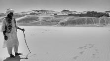 Nubian guiding through the desert