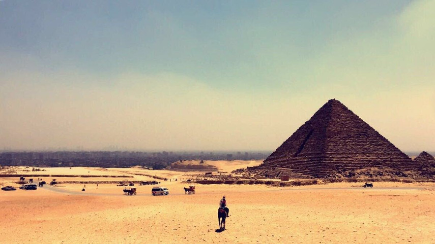 Pyramids of Gizah