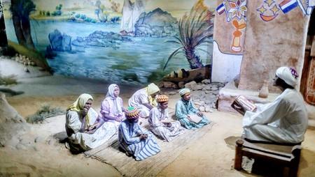 Nubian museum - representation of teaching methodes