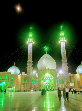 Jamarkan mosque - Iran