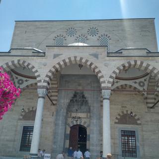 Entrance of Rumi's Masjeed