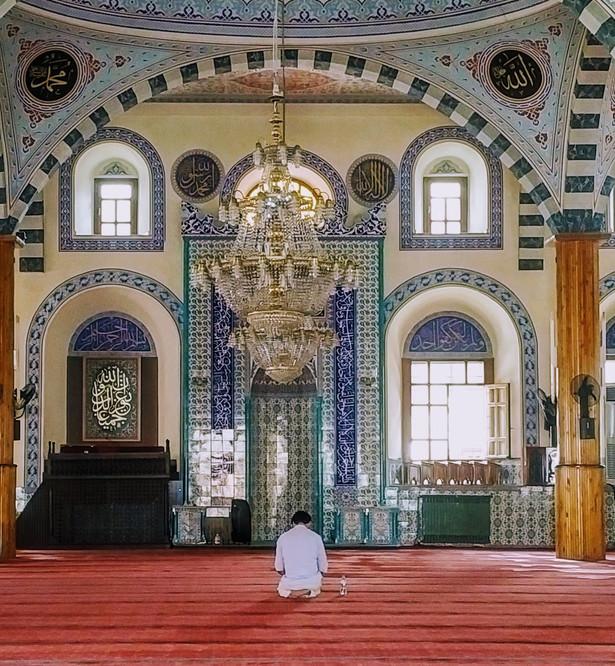 Street Mosque in Konya - Turkey