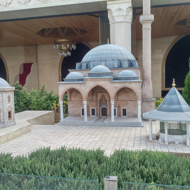 Miniatures of world sufi masjeed