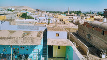 View of Nubian's village