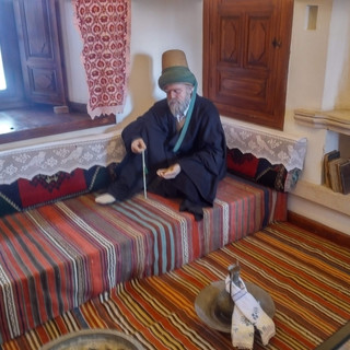 Representation of a Sufi doing Dhikr