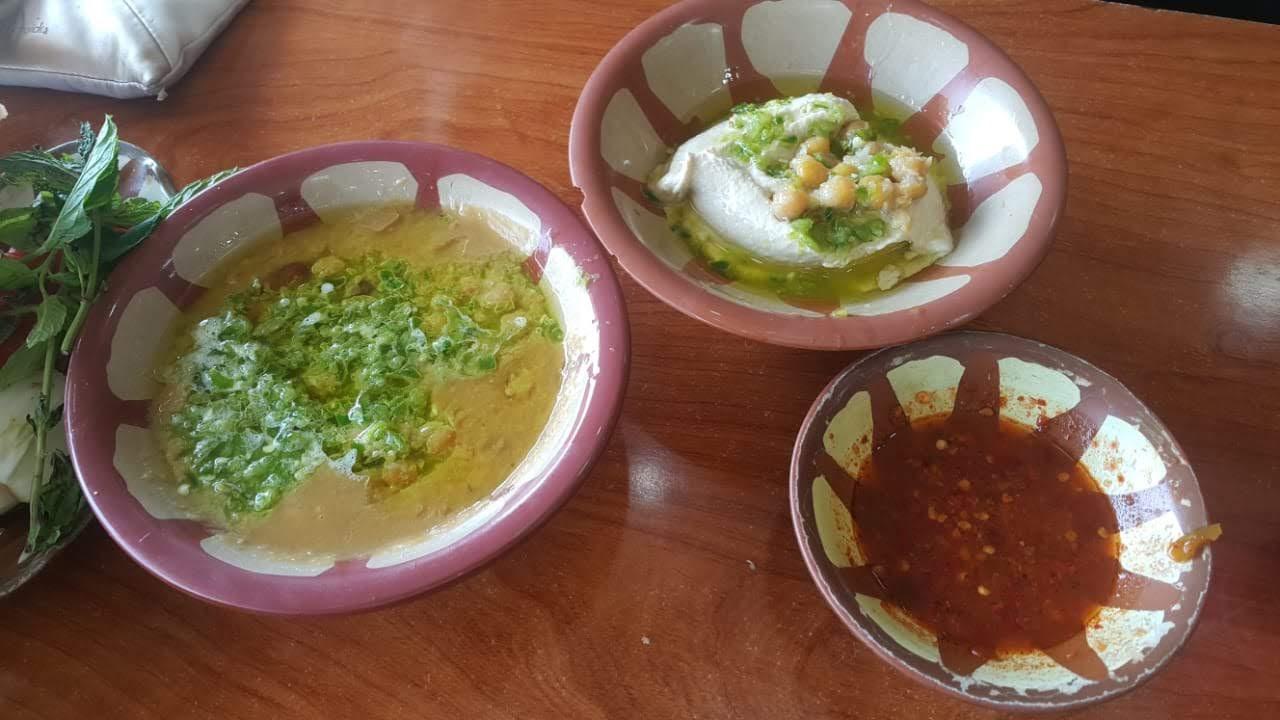 Bedouin's food