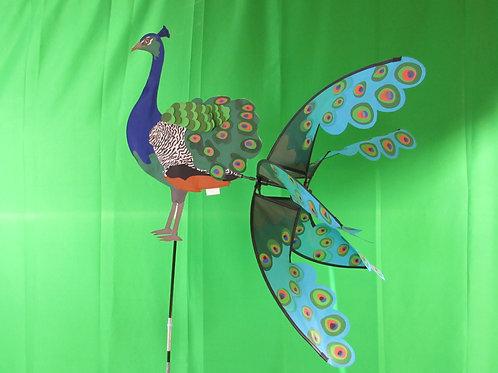 "Peacock 39"" Wind Spinner"