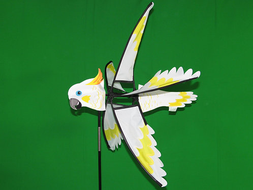 "Cockatoo 23.5"" Wind Spinner"
