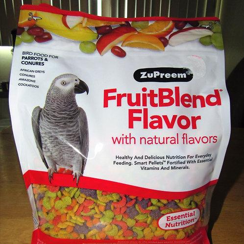 Zupreem Fruit Blend  (Parrots & Conures) 3.5 #