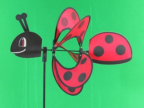 "Ladybug 19"" Wind Spinner"