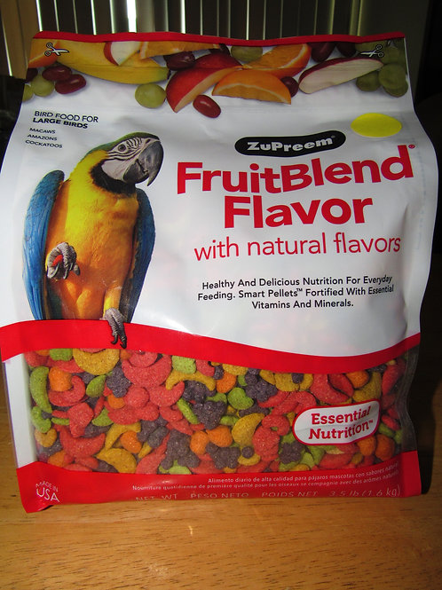 Zupreem Fruitblend (Large) 3.5 #