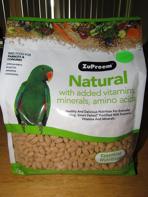 Zupreem Natural (Parrots & Conures) 3 #