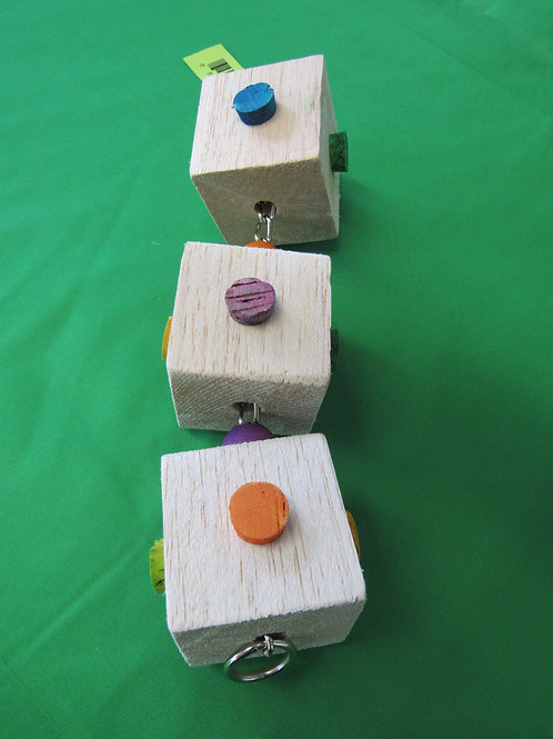 Balsa-Cork Triple Stack