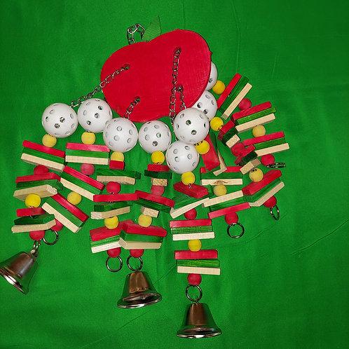 Apple Bird Toy - Large
