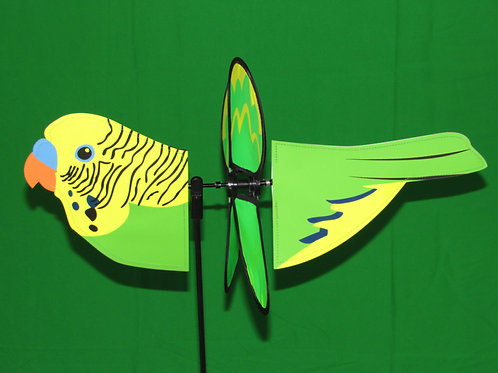 "Parakeet 17.25"" Wind Spinner"