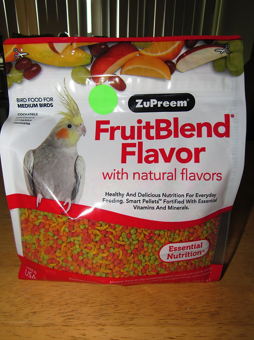 Zupreem Fruitblend ( Medium) 2 #