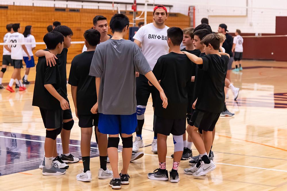 Bay to Bay 14-Club Ryan Reshke Volleyball Nor Cal Vision MVVC