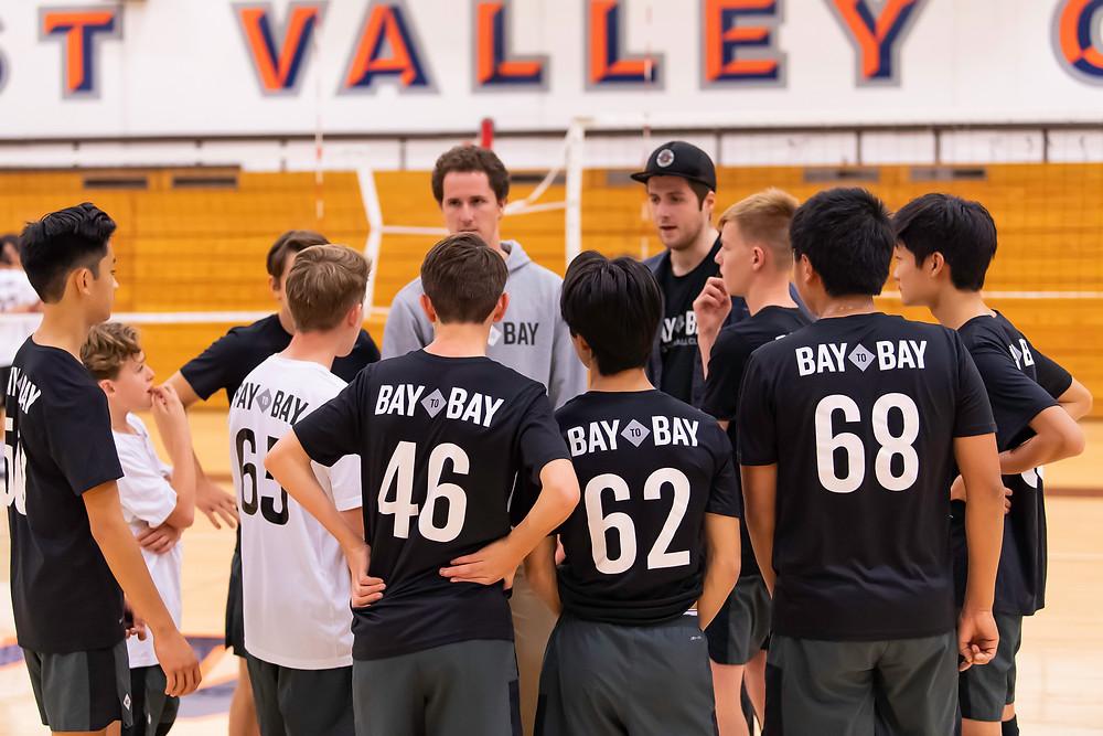 Bay to Bay Volleyball Jarrod Jordan Alec Chambers NCVA 15-Club