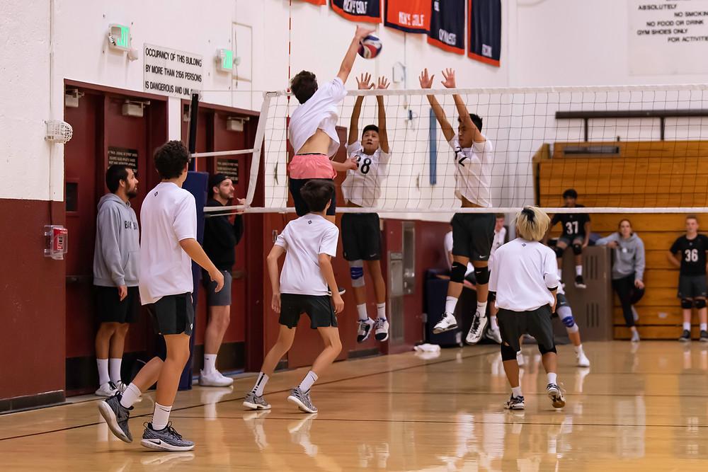 Bay to Bay Volleyball Theo Snoey Tyler Rivas Zach Namimatsu