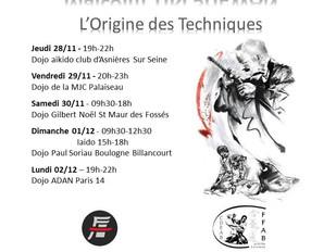Exceptionnel, Malcolm Tiki Shewan à Paris : L'Origine des Techniques