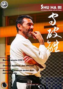 Couverture Shuhari n°8 Brahim Si Guesmi.