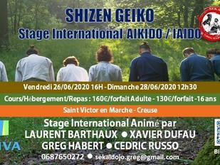 SHIZEN GEIKO : Stage Nature, le Meilleur Entrainement!