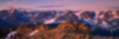 Timberline Pass Panorama, Rocky Mountain National Park, Colorado