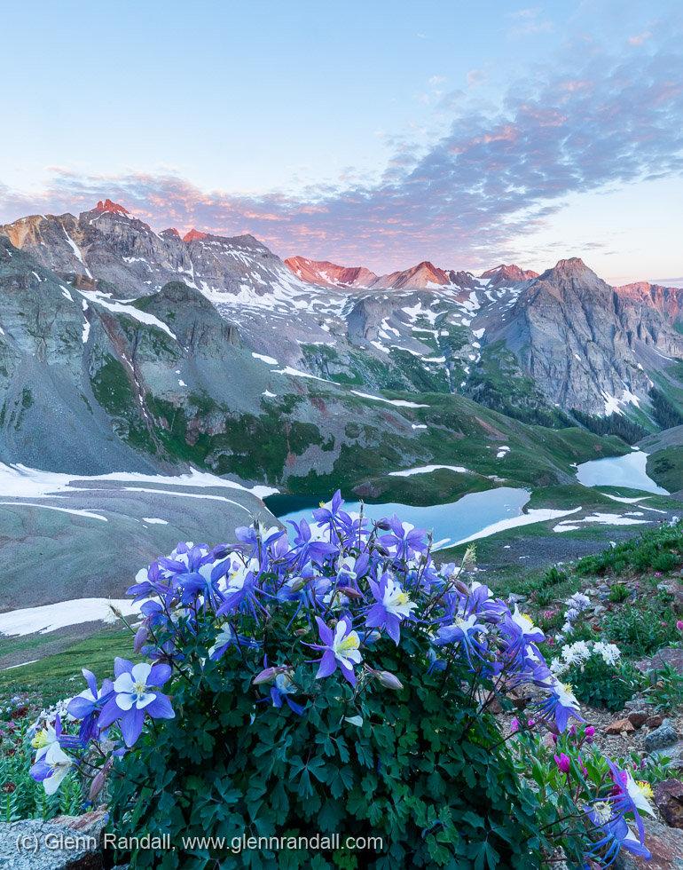 Columbine and Dallas Peak, Mt. Sneffels Wilderness, Colorado