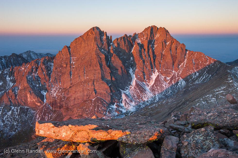 Sunrise from Humboldt Peak, Sangre de Cristo Wilderness, Colorado