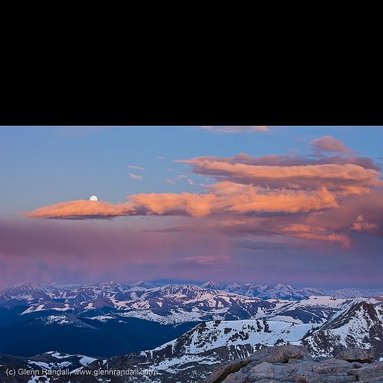 Sunrise from Mt. Evans