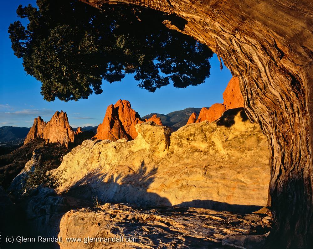 Gray Rock & South Gateway, Garden of the Gods, near Colorado Springs, Colorado.