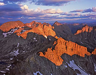 Sunrise from Sunlight Peak, Weminuche Wilderness, Colorado