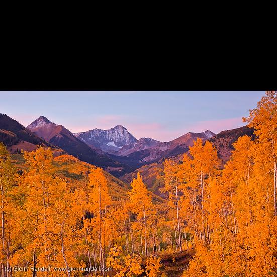 Twilight Glow over Capitol Peak