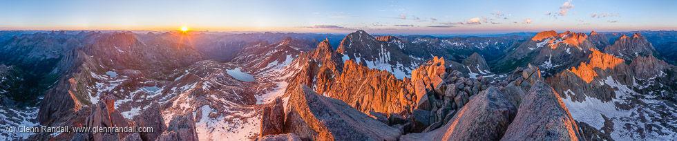 Sunlight Peak Panorama, Weminuche Wilderness, Colorado