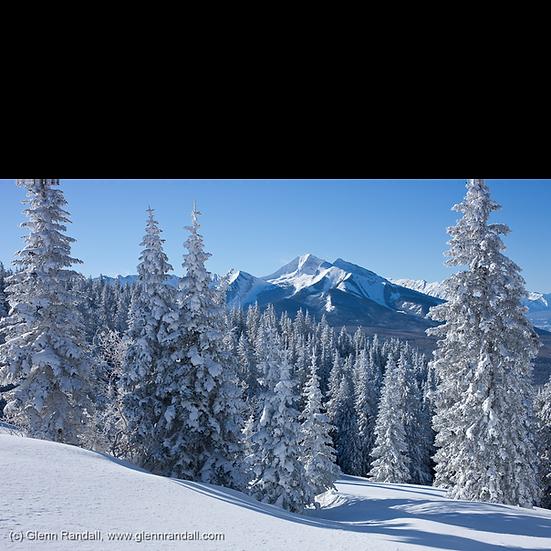 Chair Mountain from Huntsman Ridge