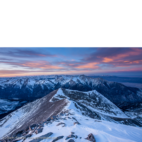 Sunset from Mt. Antero