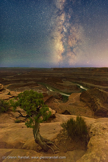 Milky Way from Dead Horse Point, Dead Horse Point State Park, Utah