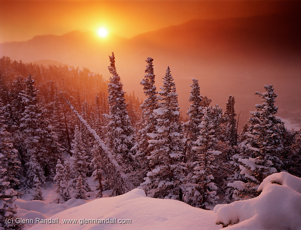 Mt. Wuh sunrise, Rocky Mountain National Park, Colorado